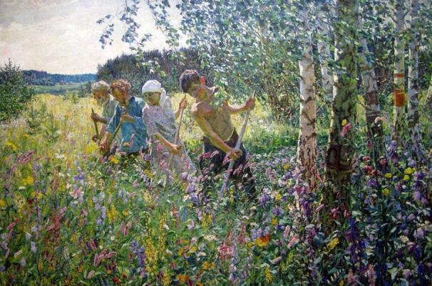 Arcady Plastov, Fenaison. 1945